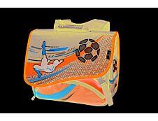 Cartable Football 38 cm - 2 compartiments - Oberthur