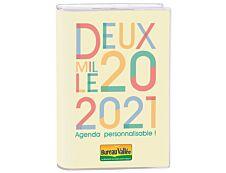 Agenda personnalisable Exclu Bureau Vallée - 1 jour par page - 12,5 x 17,5 cm