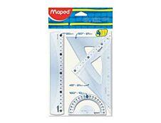 Maped - Kit de traçage 4 pièces 20 cm