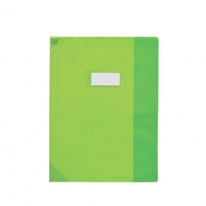 Oxford Strong Line - Protège cahier sans rabat - 17 x 22 cm - vert translucide