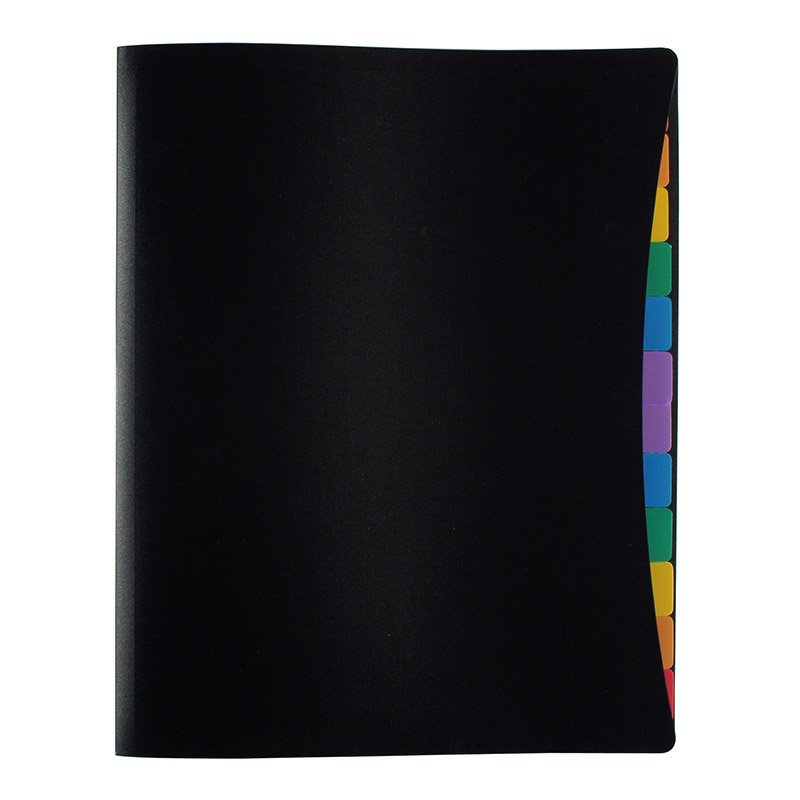 Viquel Rainbow Class - Porte vues avec 12 onglets et pochettes - A4